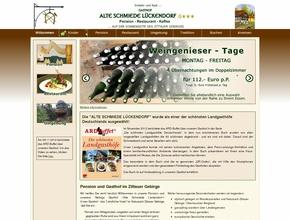 Gasthof Alte Schmiede Lückendorf G*** auf der Sonnenseite des Zittauer Gebirges