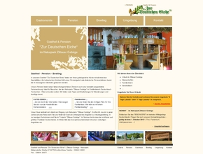 Gasthof und Pension ''Zur Deutschen Eiche'' | Zittauer Gebirge - Naturpark