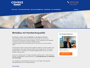 Gehrke Metallbau | Balkone | Balkongeländer | Edelstahlgeländer  Region Hannover