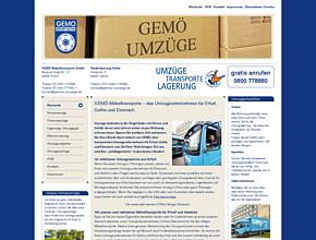 GEMÖ Möbeltransporte GmbH - Umzüge, Transporte und Lagerung in Erfurt