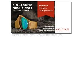 Goldschmiede Antje Pape | Mokume Gane Ringe,Trauringe, Eheringe