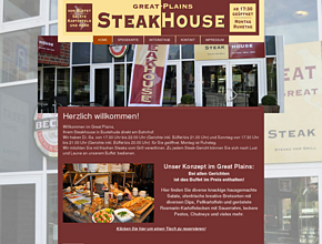 Great Plains | Great Steaks | Steakhouse