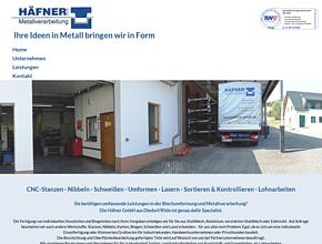 Häfner GmbH - Spezialist für Metallverarbeitung