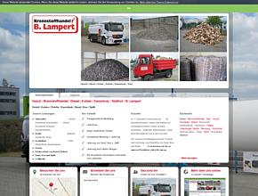 Heizöl | Brennstoffhandel | Diesel | Kohlen | Kaminholz | Staßfurt | B. Lampert