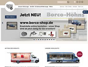 Hersteller für Verkaufsfahrzeuge - Fahrzeugwerk Borco-Höhns GmbH & Co. KG