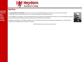 Heydorns Cdc Druckerei U Verlag Gmbh