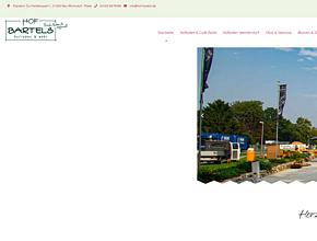 Familien Hof Bartels | Hofladen | Spargel | K�rbis | Kartoffeln | Blumenfelder