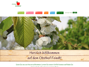 Hofladen & Hofcafé - Obsthof Feindt