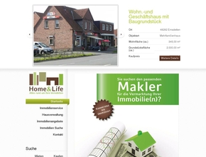 Home and Life Immobilien + Hausverwaltung