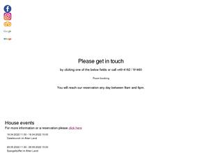 Hotel Altes Land *** | direkt in Jork