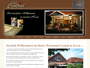 Hotel - Central | Restaurant - Bar | Urlaub & Übernachtung in Zeven