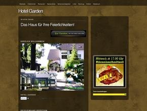"""Hotel Garden  - Tanzbar Rendezvous - Chinarestaurant """"Lotus""""  - Familienfeiern"""