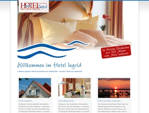 Hotel Ingrid **** | Hotel im Zentrum von Steinhude | Steinhuder Meer
