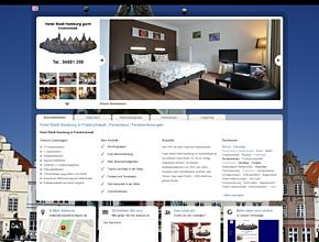 Hotel Stadt Hamburg in Friedrichstadt | Ferienhaus | Ferienwohnungen