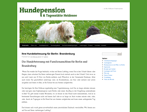 Hundepension am Wolziger See