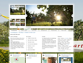 """Im Apfelgarten"" - Dirk Meyer - Hofladen im Alten Land"