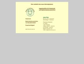 Ingenieurbüro für Holzschutz und Bestandsdokumentation