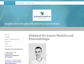 Internist und Rheumatologe Dr. Boris Lindner