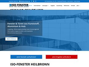 ISO-FENSTER GmbH | FENSTERBAU | FENSTERMONTAGEN
