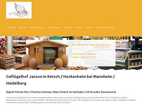Janson GmbH Geflügelhof