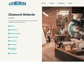 J.H. Helmcke - seit 1893 Zimmermeister