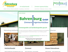 Joh. D. Bahrenburg GmbH | Ihr Holzfachhandel