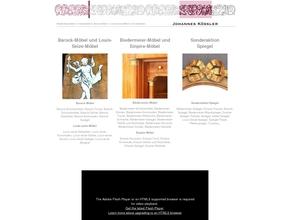 Johannes Kößler Hochwertige Antike Möbel Möbelrestaurierung