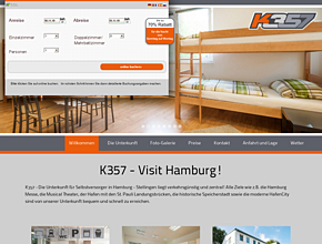 k357 stadtunterkunft hamburg. Black Bedroom Furniture Sets. Home Design Ideas
