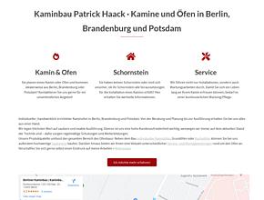 Kaminbau Patrick Haack | Kachelöfen und Kamine in Berlin · Brandenburg · Potsdam