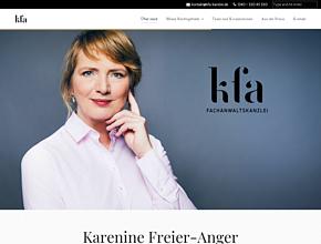 Karenine Freier-Anger   Arbeitsrecht in Norderstedt