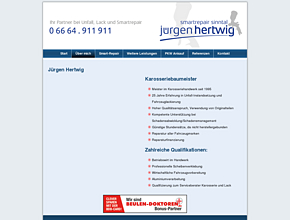 Karosseriebaumeister Jürgen Hertwig