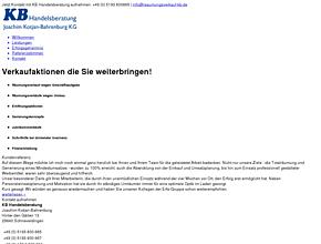 KB Handelsberatung - Joachim Kotjan-Bahrenburg KG