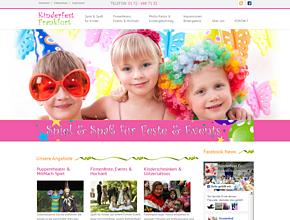 Kinderfest Frankfurt - Kinderschminken,Puppentheater, Luftballontiere und Clowns