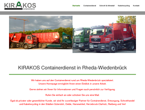 KIRAKOS Recycling Containerdienst