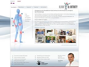 Klinik Dr. Witwity - Fachklinik | Meniskus | Kreuzbandriss | Arthrose