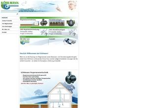 KÖHLMANN Regenwassertechnik