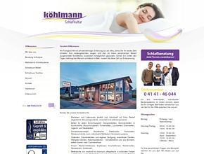 Köhlmann - Schlafkultur | Fachgeschäft | Betten | Bettwaren | Stade bei Hamburg