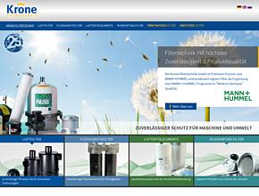 Krone Filtertechnik GmbH  |  MANN+HUMMEL Industriefilter Programm