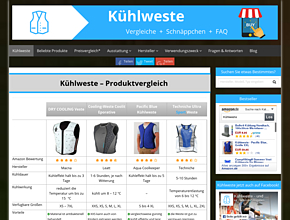 Kuehlweste for your body