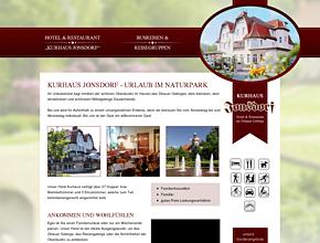 """Hotel & Restaurant """"Kurhaus Jonsdorf"""" im Zittauer Gebirge"""