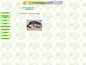 Landhotel  ''Zur Klinke''