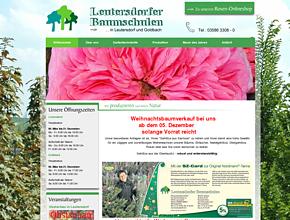 Leutersdorfer Baumschulen Pflanzenhandels GmbH -Obst, Bäume, Koniferen und Rosen