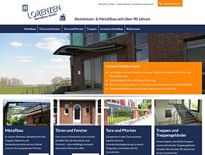 Lorenzen Metallbau GmbH | Fachbetrieb seit über 90 Jahren