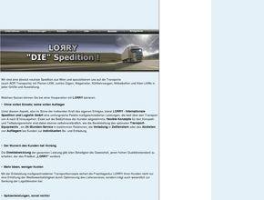 LORRY Internationale Spedition