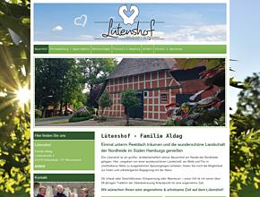 Lütenshof | Ferienwohnung unterm Reetdach | Wennerstorf bei Stade & Hamburg