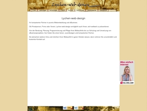 Lychen-Web-Design