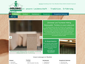 M. Hölting GmbH - Zimmerei - Tischlerei