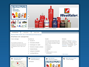 Manfred Pfeffer GmbH, Gas in Gieboldehausen / Wollershausen