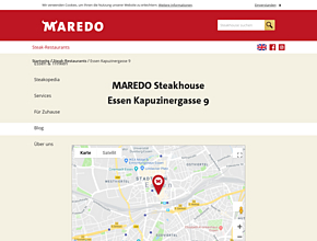 MAREDO Steakhouse Essen Kapuzinergasse