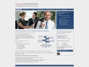 Matthias Kindermann, MBA | Bester-PKV-Tarif | Spezialist für Krankenversicherung